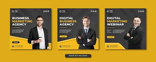 Sjabloon voor spandoek voor professioneel digitaal marketingbureau