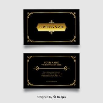 Sjabloon voor visitekaartjes in elegant ontwerp