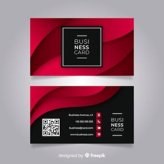 Sjabloon voor visitekaartjes