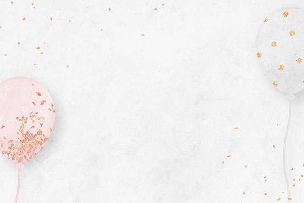 Sjabloon voor witte feestelijke achtergrond