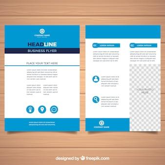 Sjabloon voor zakelijke folders