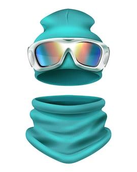 Ski pak illustratie