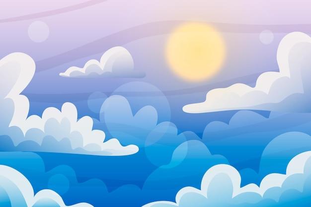 Sky - achtergrond voor videoconferenties