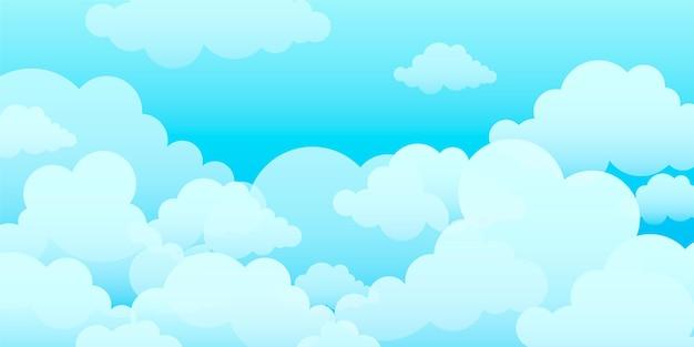 Sky wallpaper voor videoconferenties