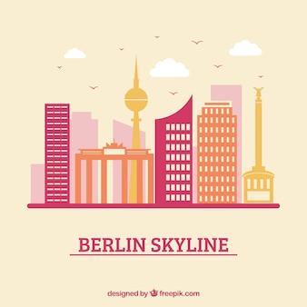Skyline-ontwerp van berlijn