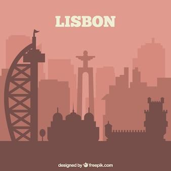 Skyline van lissabon