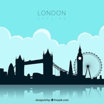 Skyline van londen ontwerp