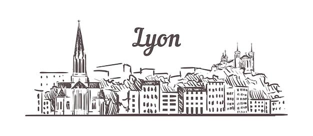 Skyline van lyon