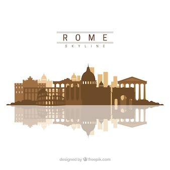 Skyline van rome