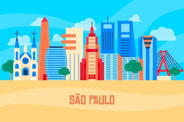 Skyline van sao paulo