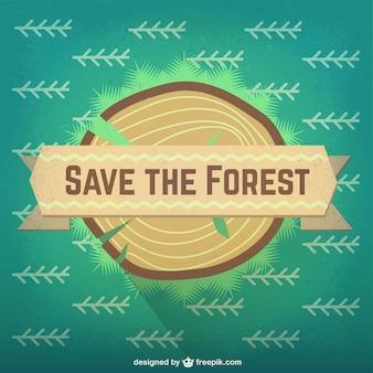 Sla het bos