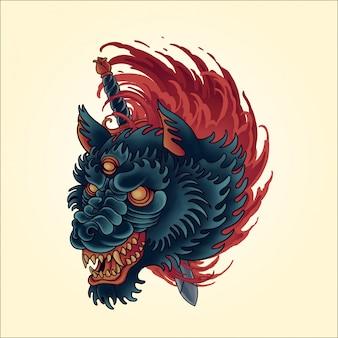 Slacht wolf