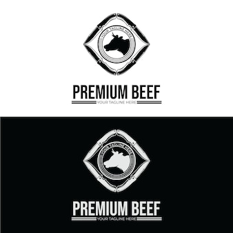 Slagerij logo ontwerp inspiratie