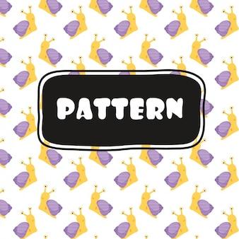 Slakken patroon ontwerp