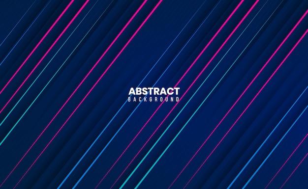 Slanke moderne schone 3d abstracte achtergrond