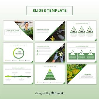 Slide presentatiesjabloon