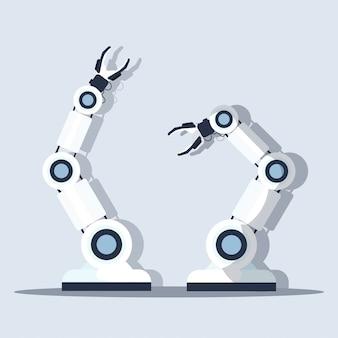 Slimme handige chef robot keuken assistent concept moderne automatisering robot innovatie technologie kunstmatige intelligentie