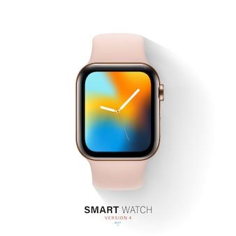 Slimme horloge illustratie