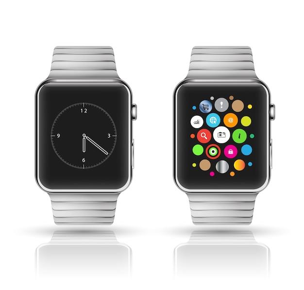Slimme horlogemodel. vector illustratie.