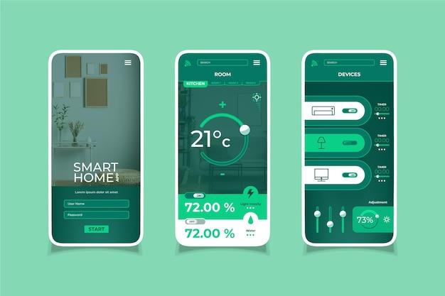 Slimme huis-app