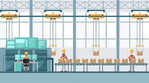 Slimme industriële fabriek