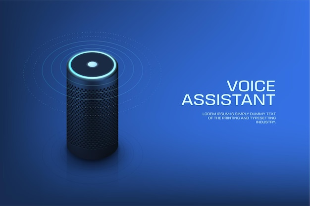 Slimme speaker met stemassistent