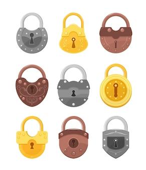 Sloten voor veiligheid en bescherming.