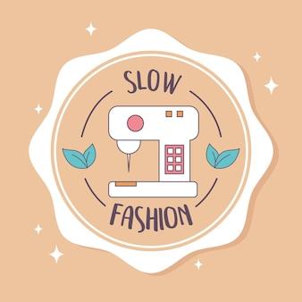 Slow fashion-badge