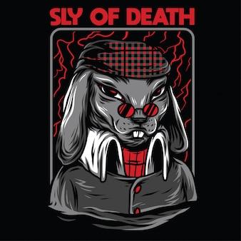 Sluw van de dood illustratie