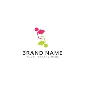 Smart connect logo sjabloon