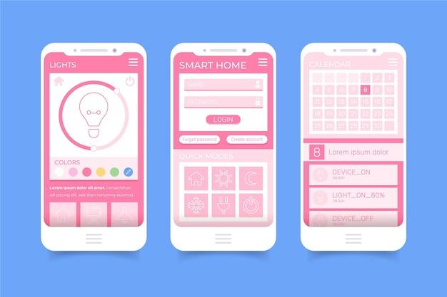 Smart home-applicatie