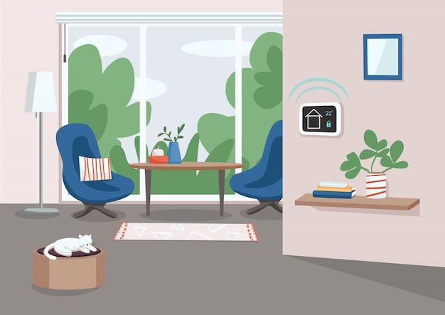 Smart home management-paneel