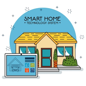 Smart home tecnology-systeem