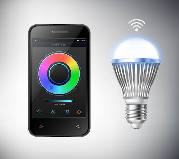 Smart led lightbulb