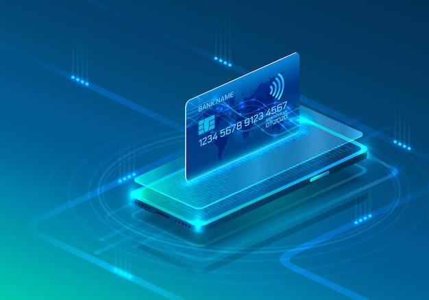 Smartphone mobiel productscherm, technologie mobiele display-app.