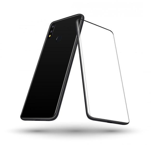 Smartphone voor en achter