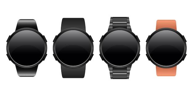 Smartwatch apparaat ontwerp illustratie geïsoleerd