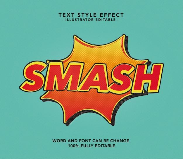 Smash lettertype