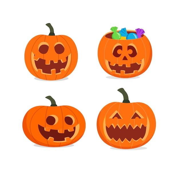 Smile jack pompoen snijset voor halloween
