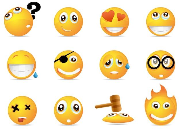 Smiley pictogrammen