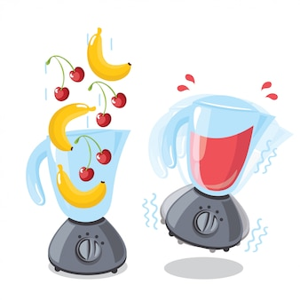 Smoothie illustraties