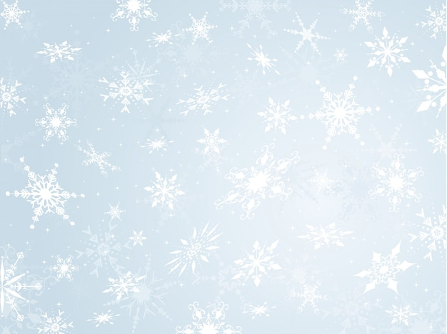 Sneeuwvlok achtergrond