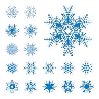 Sneeuwvlok eenvoudige illustratie