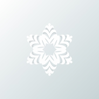 Sneeuwvlok, prettige kerstdagen en gelukkig nieuwjaar