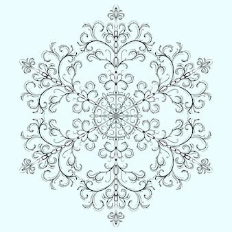 Sneeuwvlok voor kerstmis