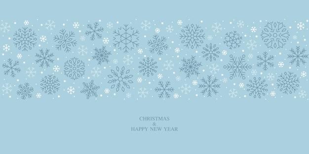Sneeuwvlokontwerp, sneeuw, kerstmis, patroon, vakantie