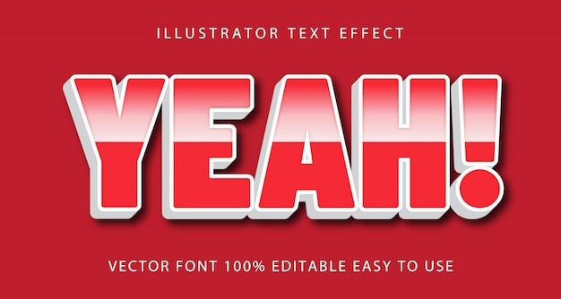 Snel bewerkbaar teksteffect