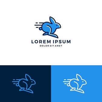 Snel konijn-logo