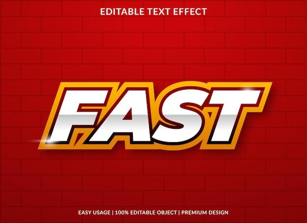 Snel teksteffectontwerp met gewaagde stijl