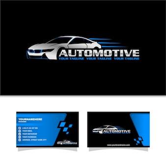 Snelheid auto-logo